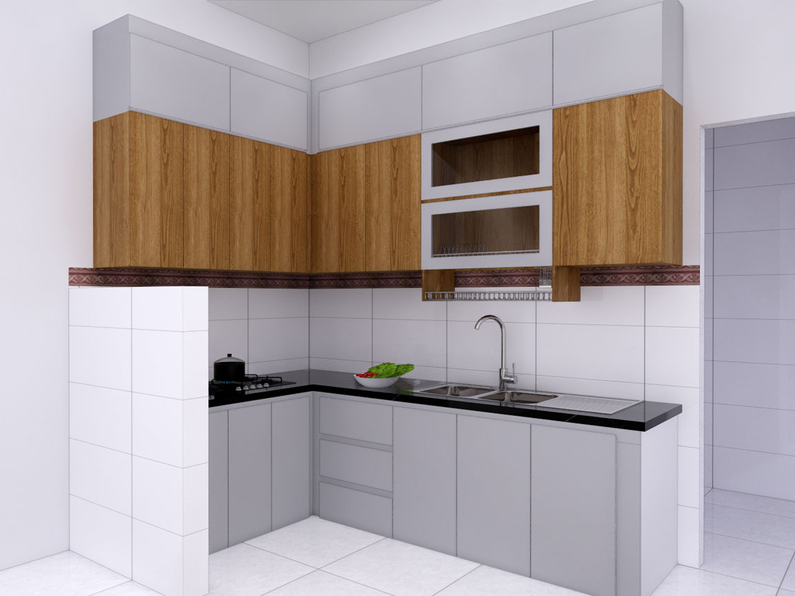 Tủ bếp – B04