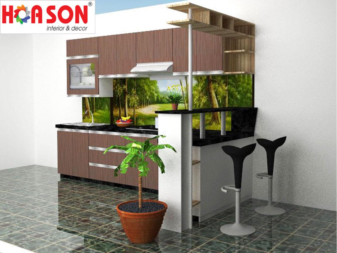Tủ bếp – B07