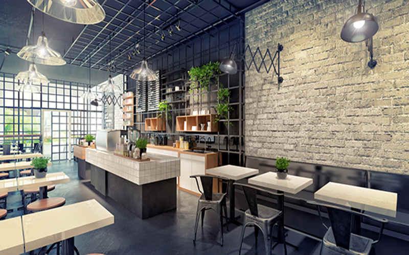 Thi công nội thất quán cafe