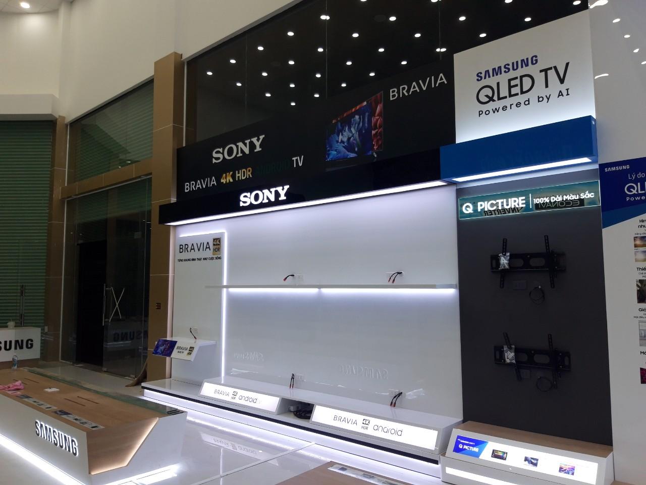 Kệ trưng bày Tivi Sony