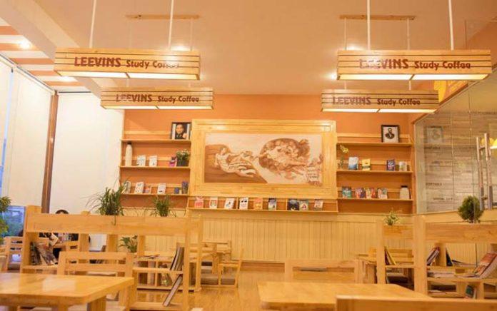 Thiết-kế-quán-café-sách