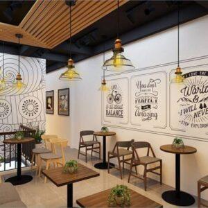 thiết kế quán trà sữa, cà phê