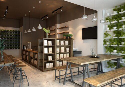 Những sai lầm trong thiết kế kiến trúc quán trà sữa hiện đại