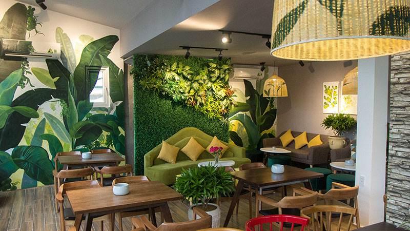 thiet ke cafe tropical