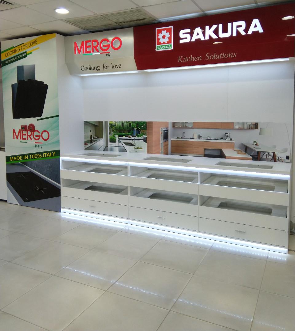 Quầy kệ bếp Sakura