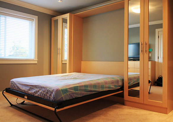 Giường gấp thông minh hay giường ngủ xếp gọn