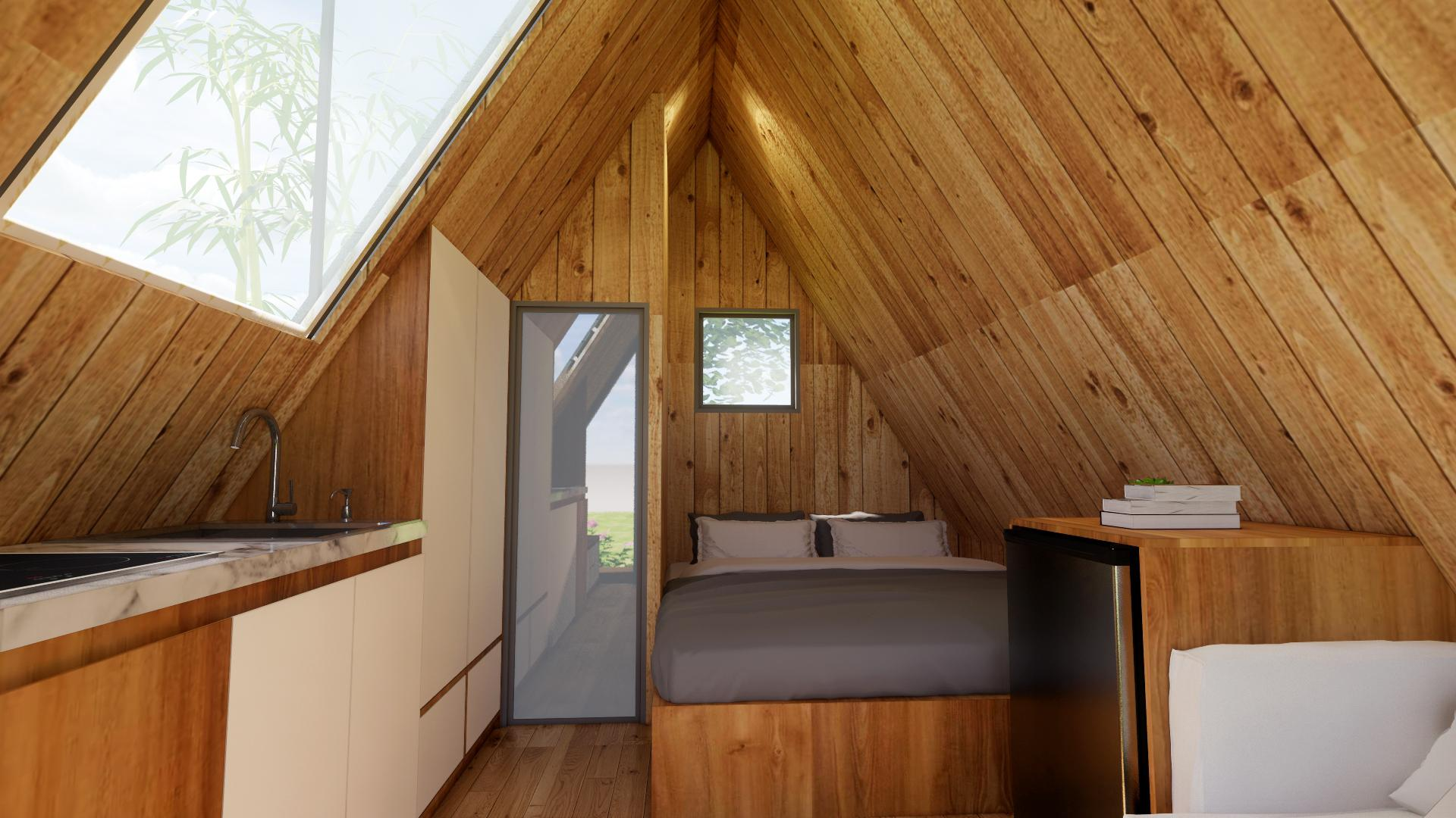 home stay nhà gỗ di động