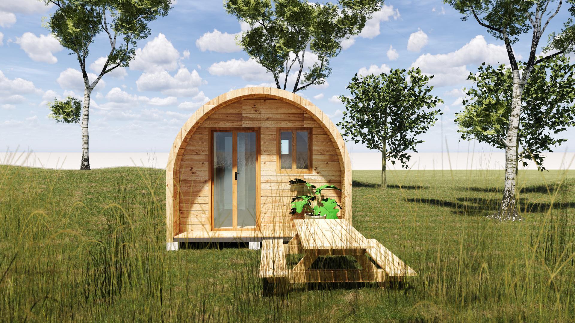 Nhà gỗ di động thông minh