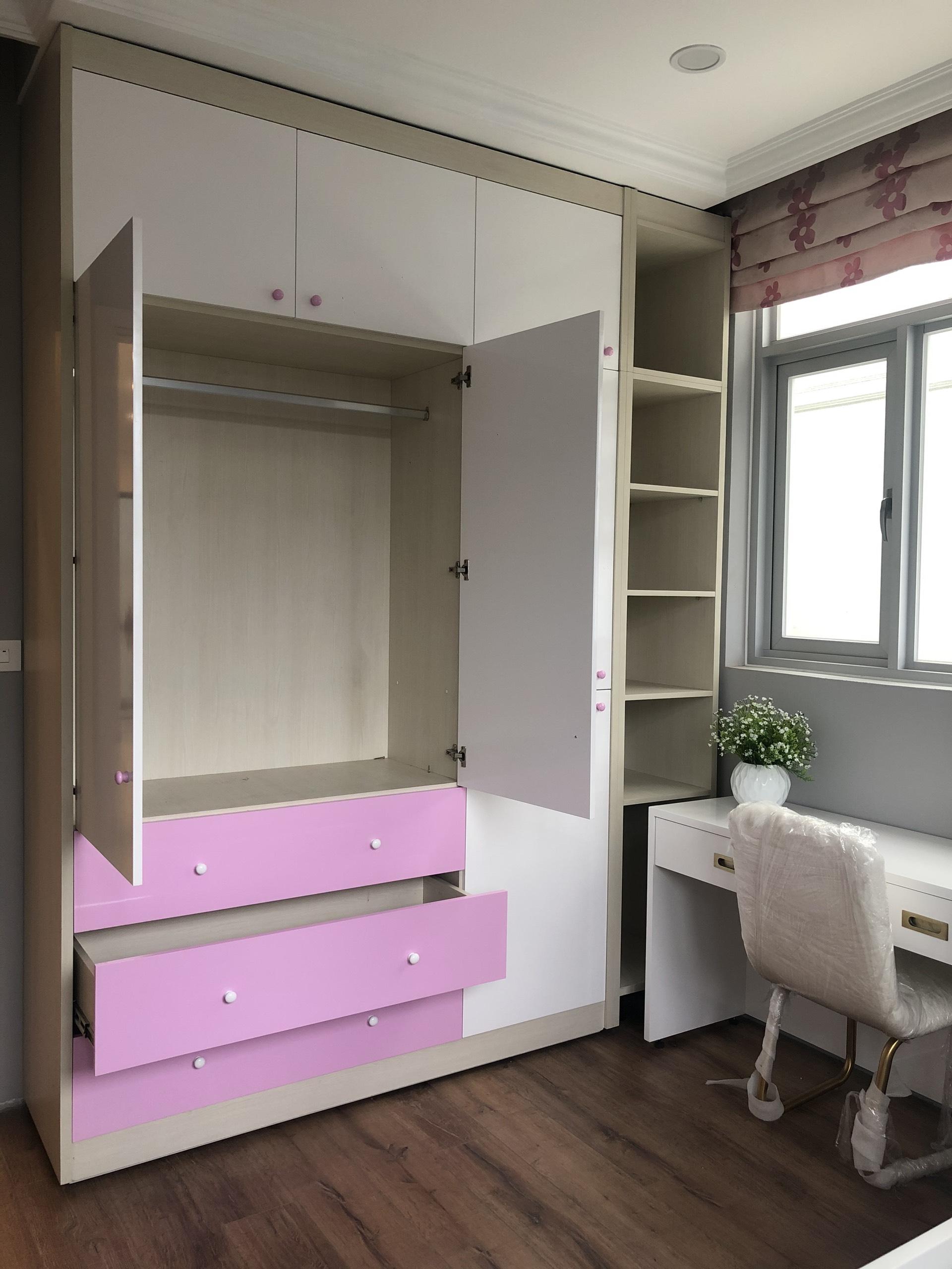 thiết kế tủ quần áo