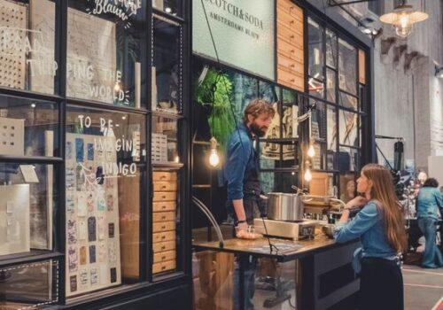 quán cafe di động