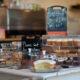 mô hình thi công quán cafe