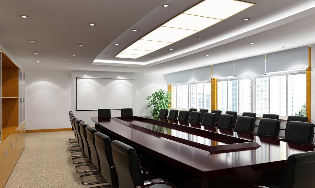 Thiết kế nội thất phòng hợp theo phong cách thiết kế mới