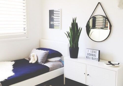 Thiết kế nội thất phòng ngủ hiện đại cho người độc thân