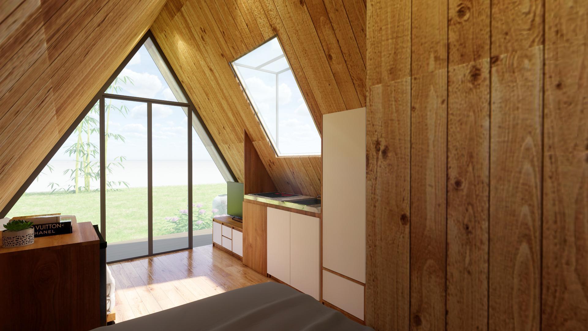 chọn nhà gỗ thông minh