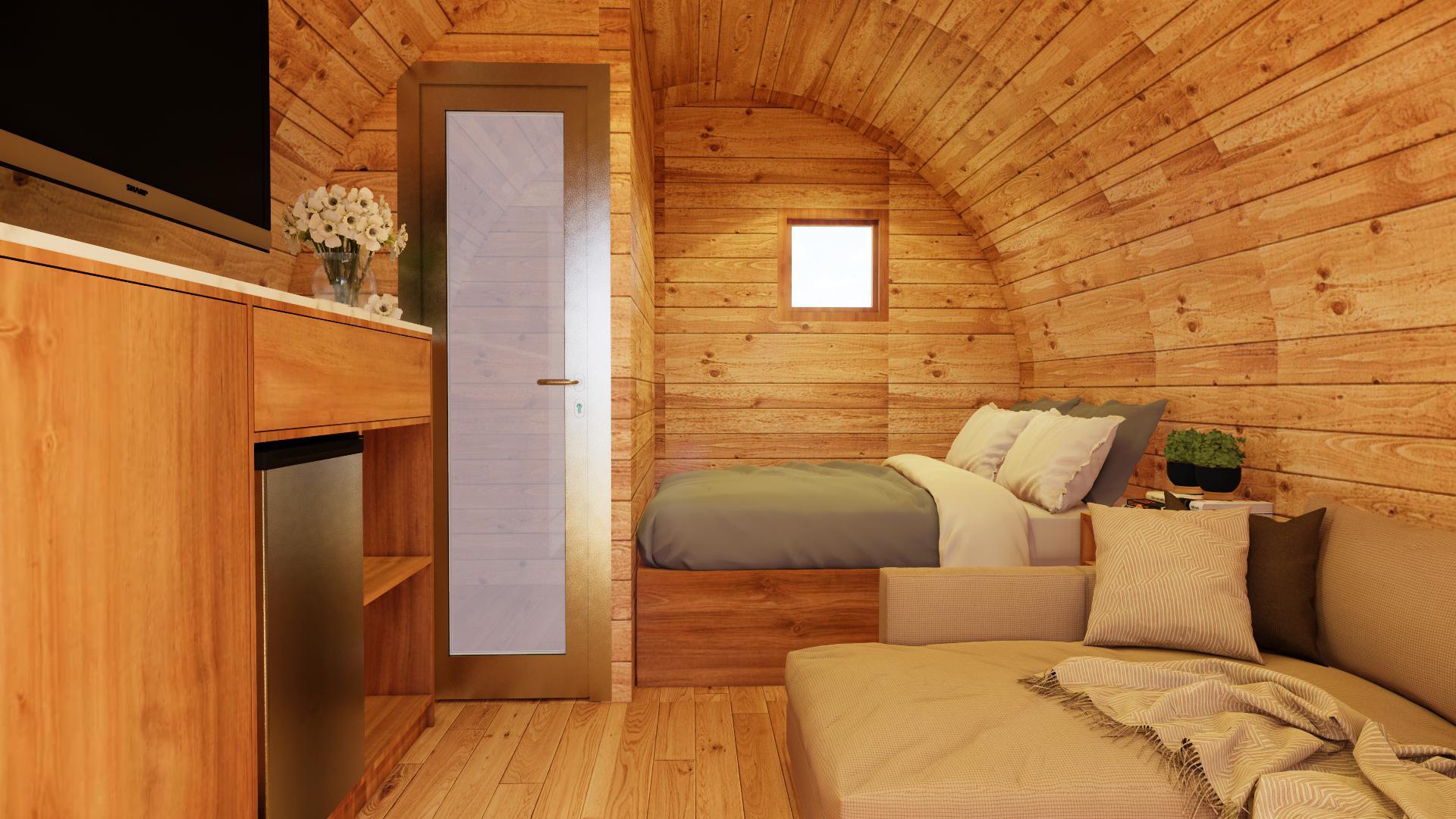 homestay kiểu nhà gỗ Bungalow