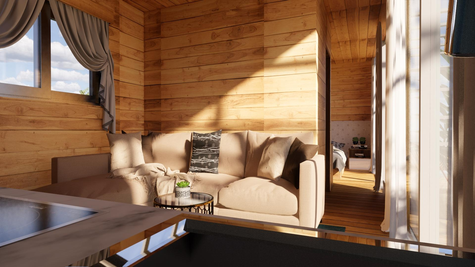 Nhà gỗ thông minh, xu hướng nhà hiện đại của tương lai