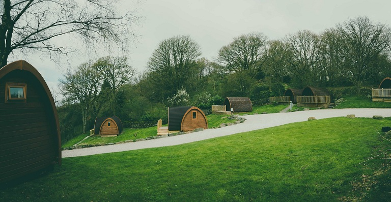 nhà gỗ bungalow cho resort