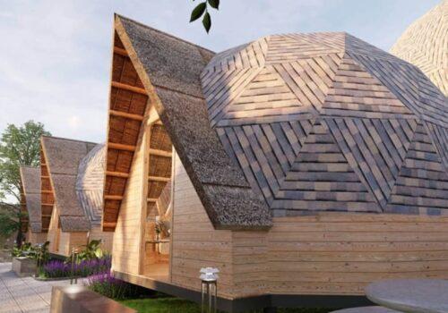 nhà gỗ bungalow